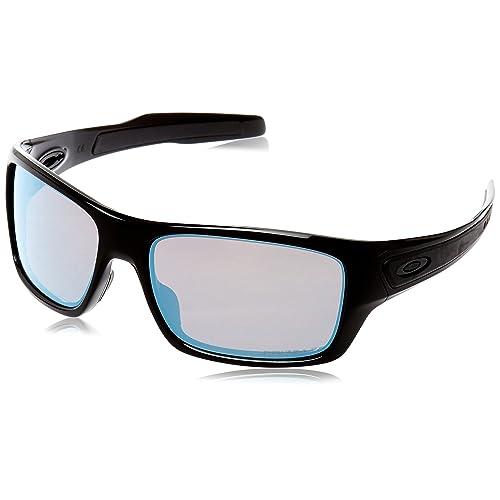 9b43d742ab740 Oakley Men s Turbine OO9263 Rectangular Sunglasses