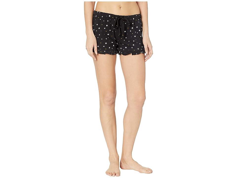 P.J. Salvage Oh My Stars Shorts (Black) Women