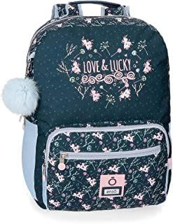 Love and Lucky Mochila 42 cm adaptable a carro