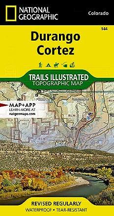 National Geographic Trails Illustrated Map Durango / Cortez: Colorado, USA