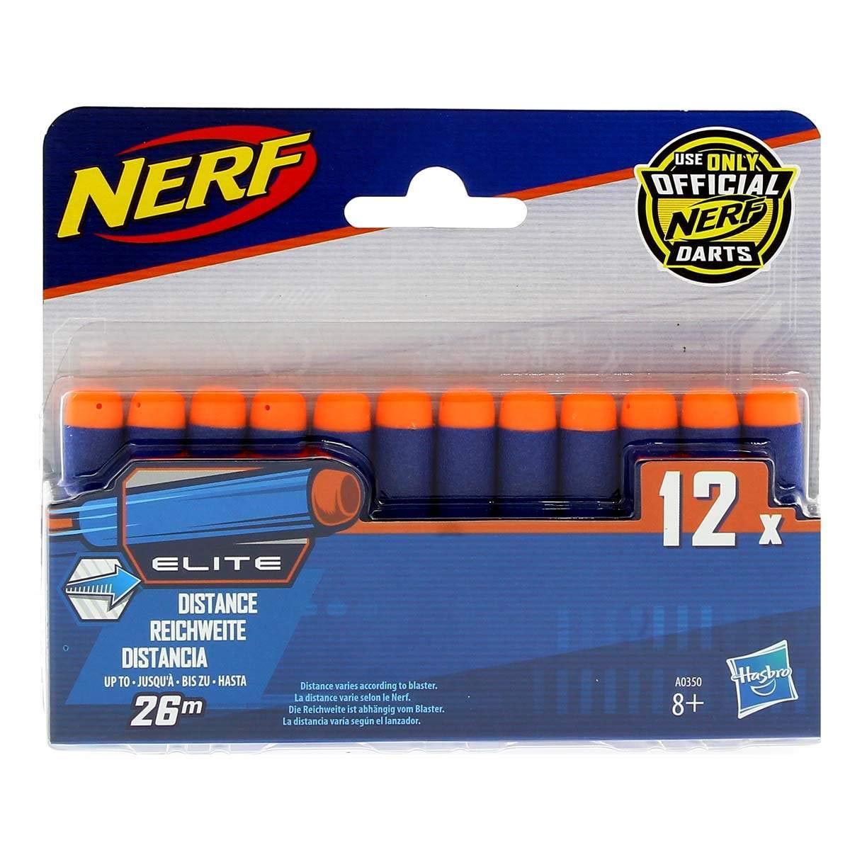 Hasbro Nerf Elite Pack 12 Dardos: Amazon.es: Juguetes y juegos