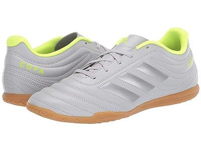 adidas Copa 20.4 IN (Grey Two/Matte Silver/Solar Yellow) Men