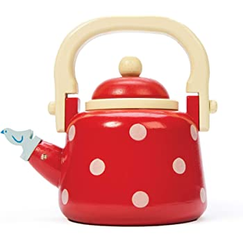 Bigjigs Toys Wooden Kettle Pretend Role Play Kitchen
