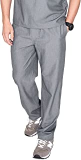 Pisco Basic Scrub Pants for Men – Tailored Fit, Super Soft Stretch, Anti-Wrinkle Medical Scrub Pants