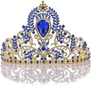 Dongyu Corona Copricapo da Sposa Principessa Signora Sposa Fascia Diadema Accessori for Capelli Accessori for Capelli Coro...