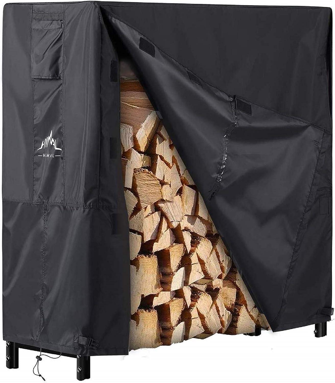 Finally popular brand Himal Log Rack Cover Waterproof 4FT Firewood Fit Year-end gift Wood