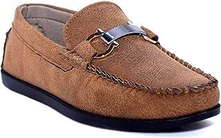 PAUL JOHN Kids Boys Beige Loafers