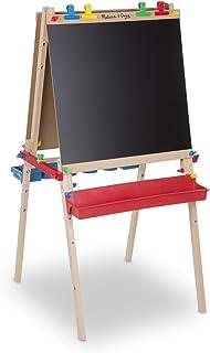 Melissa & Doug Deluxe stående konststaffli | Konst & hantverk | konstmaterial | 3+ | gåva till pojke eller flicka
