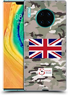Official Support British Soldiers Multi Terrain Camo Hard Back Case Compatible for Huawei Mate 30 Pro / 5G