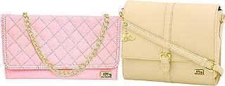 ANGLOPANGLO Freya Leatherette Handbag for Girls and Women