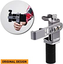 Cinema Mount Rig for DJI Osmo Pocket: Smartphone Rig, Aluminum Alloy Grip Handle, Osmo Pocket Clip, Cell Phone Tripod Adapter, Standard Cold Shoe Mount, 1/4