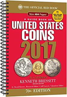 A Guide Book of United States Coins 2017: The Official Red Book, Spiralbound Edition