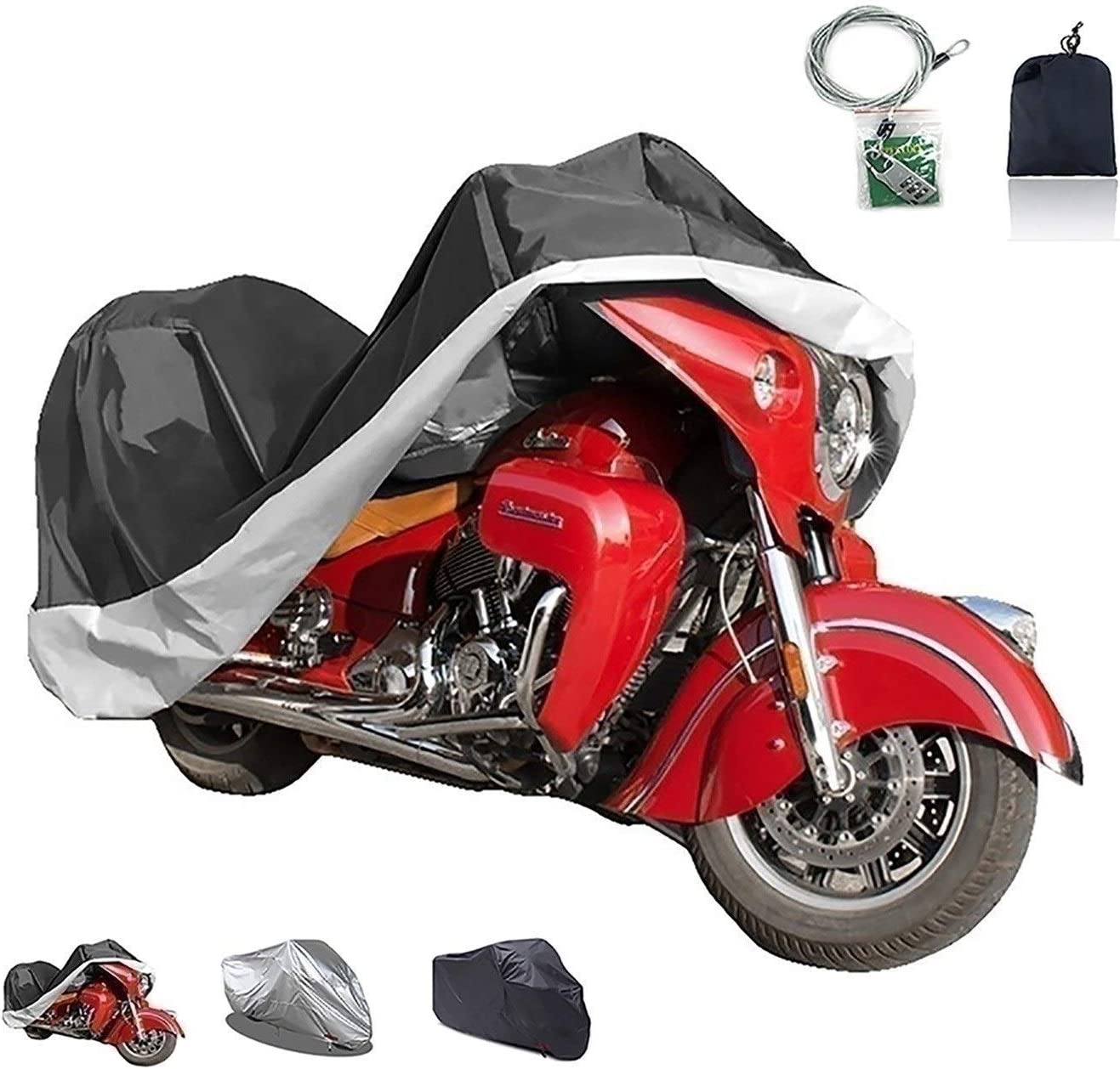 XJZHJXB Motorcycle Cover Compatible with Kansas City Mall Agu MV quality assurance