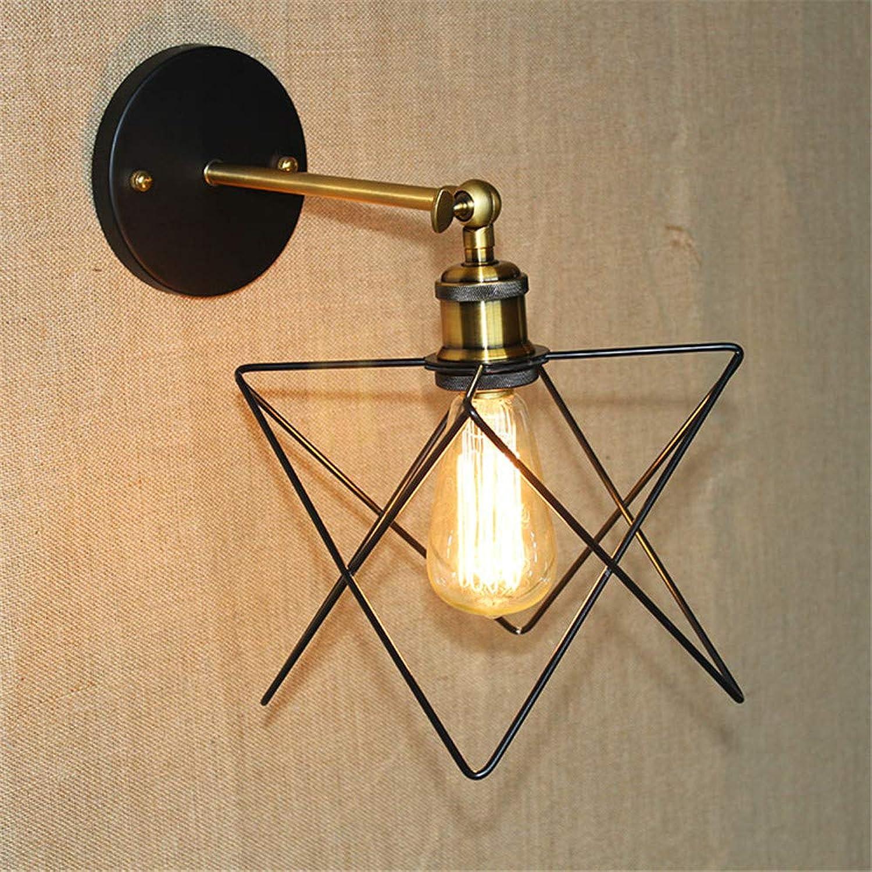 al precio mas bajo ILYSNBD Baadores de parojo Lámpara de parojo parojo parojo creativa moderna de la puerta minimalista del hierro labrado de la vendimia  venta