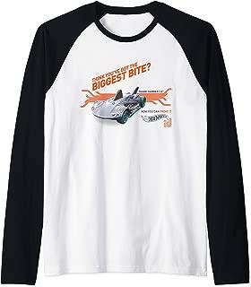 Hot Wheels ID Shark Hammer Raglan Baseball Tee