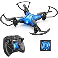 DROCON DC-65 Foldable Mini Drone for Kids, Beginner RC Quadcopter with Altitude Hold/3D...