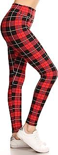 Leggings Depot Yoga Waist REG/Plus Women's Buttery Soft Christmas Print Leggings