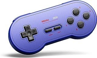 8Bitdo Sn30 Bluetooth Gamepad for Nintendo Switch,Windows,macos,Android,Raspberry Pi (GP Blue Edition)