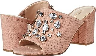 Ninewest Heel Sandals For Women - Peach, 8 US