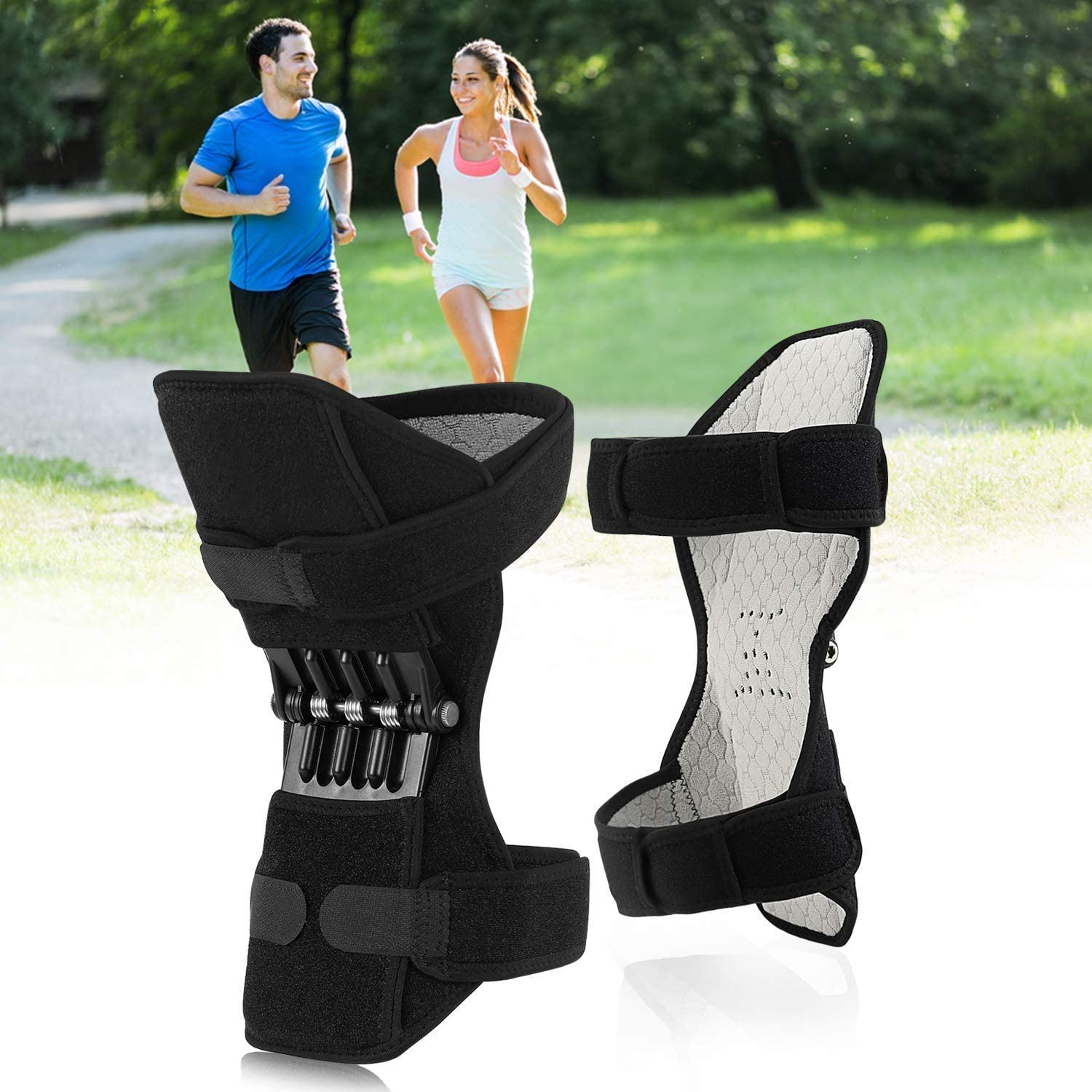 LIMEIB Prevent Joint Damage Support Knee Pad, Knee Humerus Band, High Elastic Tendon Support Band Suitable For Arthritis Tendonitis Sports Running Gym