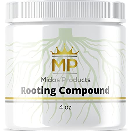 Rooting Gel for Cuttings – IBA Rooting Hormone - Cloning Gel for Strong Clones - Key to Plant Cloning - Midas Products Rooting Gel Hormone for Cuttings 4oz - for Professional and Home Based Growers