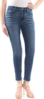 Sanctuary Womens Social Standard Ankle Skinny Jeans in District Blue