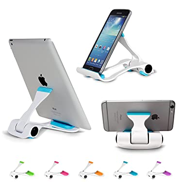 MacNgrid Tablet and Cell Phone Stand, Holder, Mount for Apple iPad, iPhone, Samsung Galaxy Tab, Kindle, Fit to Any Devices, 4-12-inch(Model Mac17)