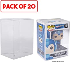 "EVORETRO Funko Pop 4"" Protectors (Clear Plastic) | Acid-Free Case Display |Protective Cases Fit All Standard Funko POP 4"