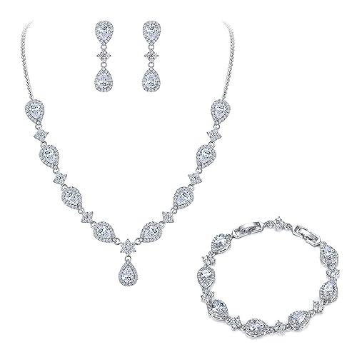 4771f565a707f Bridal Necklace: Amazon.com