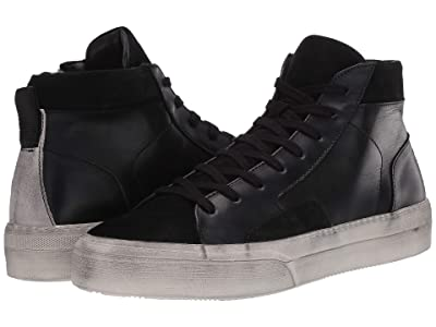 John Varvatos Collection 315 Mac Skate High Sneaker (Black) Men