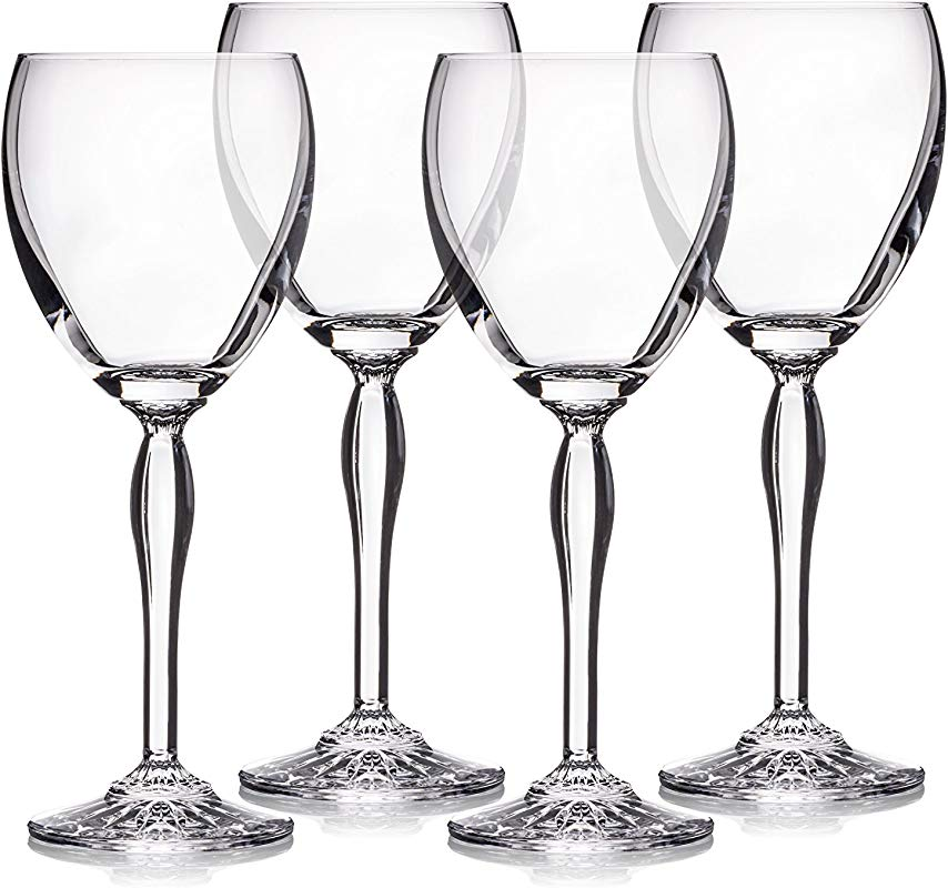 Marquis By Waterford 40030446 Ventura All Purpose Wine Set 4 12 Oz Clear