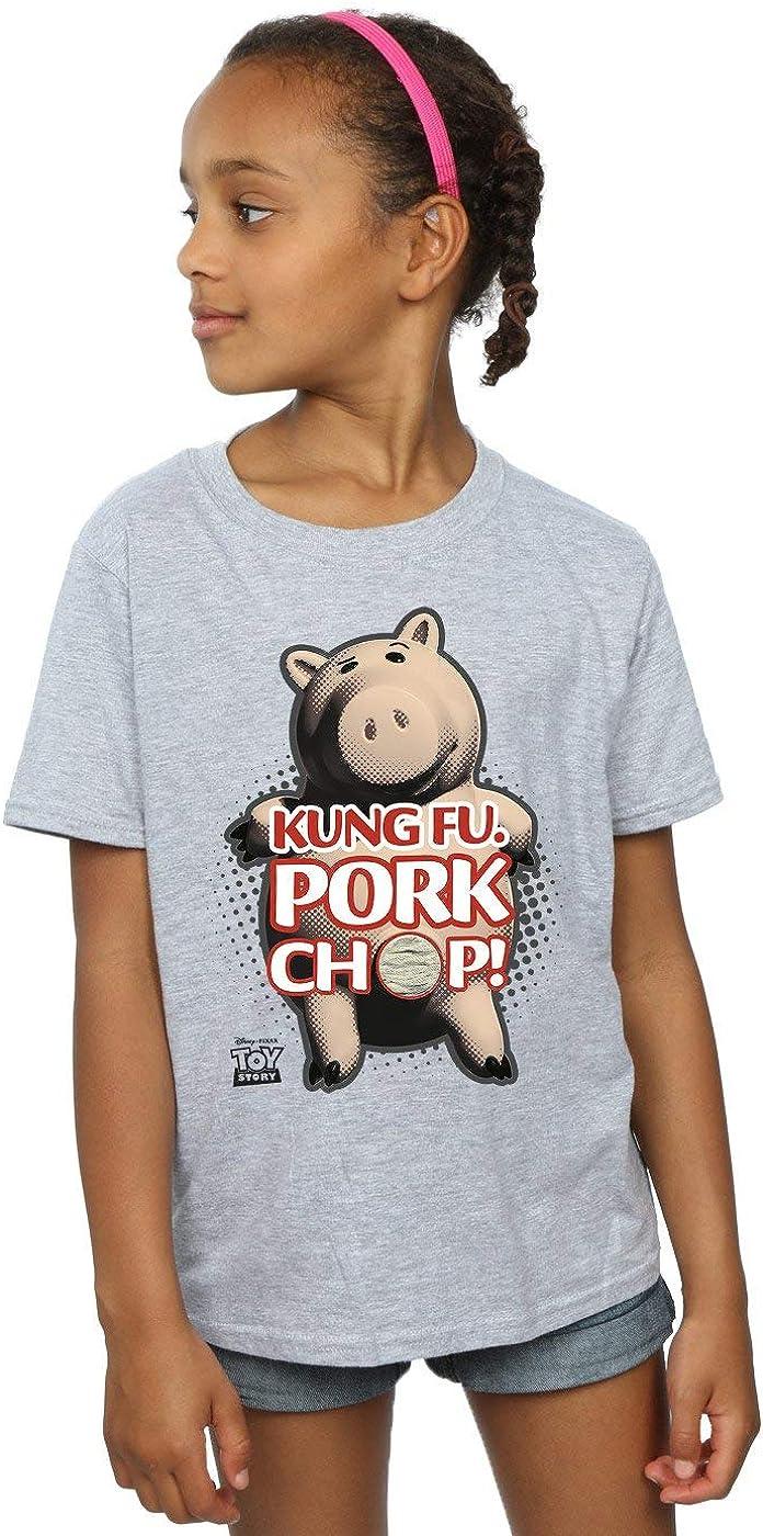 Disney Girls Toy Story Kung Fu Pork Chop T-Shirt