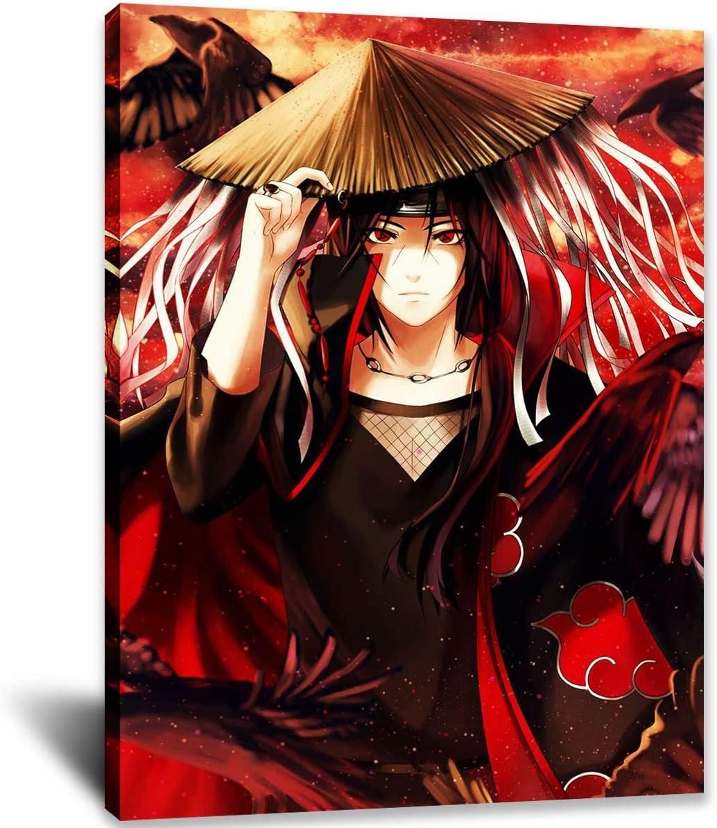Naruto Canvas Prints 人気商品 Wall Art Anim 定番キャンバス Poster Paintings Japan
