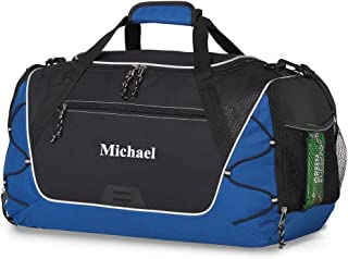 Personalized Sports Duffel Bag – Gym, Fitness, Workout, Travel, Camping Bags for Men Women