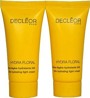 Decleor Hydra Floral 24hr Hydrating Light Cream 15 ml / 0.5 Fl.oz. x 2 - TRAVEL SIZE