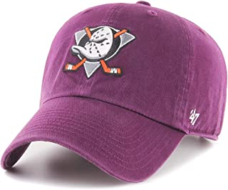 '47 Czapka baseballowa UNISEKS Nhl Anaheim Ducks Clean Up