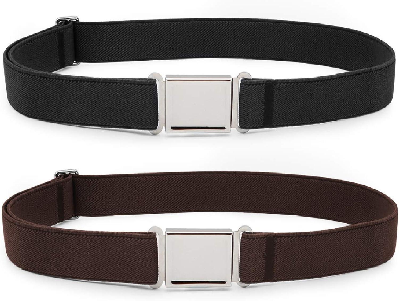 JASGOOD Kids Adjustable Magnetic Belt Boys Girls Elastic Belt with...