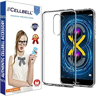 CELLBELL Soft Back Cover for Huawei Honor 6X (Transparent)