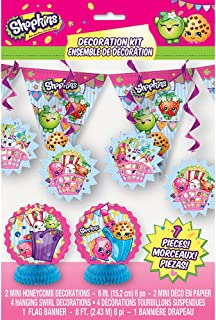 Shopkins 7-Piece Party Decoration Kit