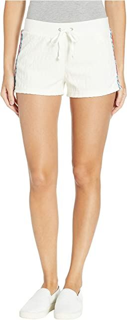 Juicy Jacquard Velour Shorts