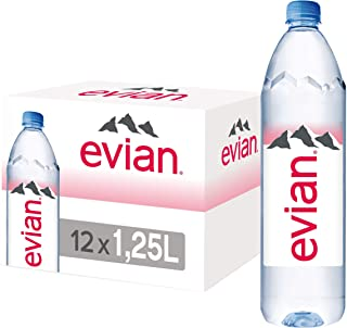 Evian Natural Mineral Water Promo Pack - 1.25 litres (Pack of 12)