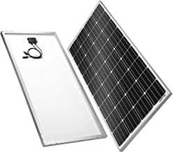 BougeRV 170 Watts Solar Panel, 12 Volts Monocrystalline Solar Cell Charger High Efficiency Module RV Marine Boat Off Grid