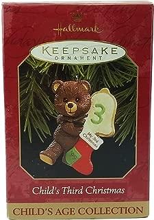 Hallmark Keepsake Ornament Child's Third Christmas 1999 QX6677