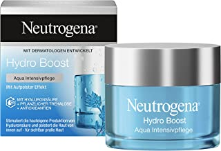 Neutrogena Hydro Boost Face Cream, Revitalising Booster with Hyaluronic and Antioxidants, Oil-Free, 50 ml