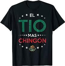 El Tio Mas Chingon Funny Spanish Uncle Shirt
