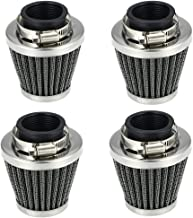 CQYD 4x 54mm Air Pod Intake Filters for Honda CB750 CB900 Kawasaki Kz1000 Suzuki Gs1100 the same applies to 52-58mm