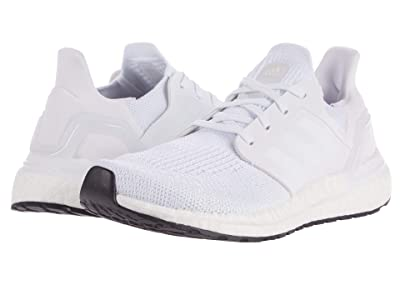 adidas Kids UltraBOOST 20 (Big Kid) (White/Grey/Black) Kid