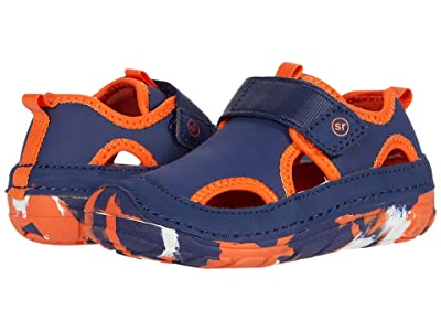 Stride Rite SM Splash (Infant/Toddler) (Navy/Orange 1) Boy
