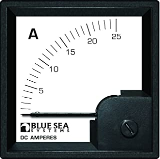 Blue Sea Systems 0-25A DC DIN Ammeter with Shunt