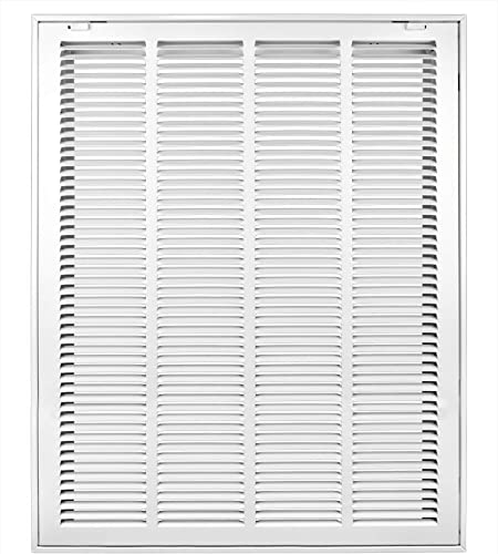 new arrival Accord ABRFWH2025 Return Filter online sale popular Grille with 1/2-Inch Fin Louvered, 20-Inch x 25-Inch(Duct Opening Measurements), White online